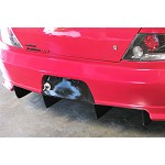 APR Carbon APR Fiber Rear Diffuser/APR Widebody Kit Bumper Only - APR Widebody Only Mitsubishi Evil-R Kit