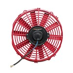 "Mishimoto - 12"" Electric Fan 12V, Red"