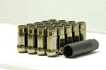 MUTEKI SR48 LUG NUTS OPEN END 12X1.50 - TITANIUM 48MM