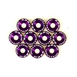 ZERG FENDER WASHER KIT 10 PIECES PURPLE